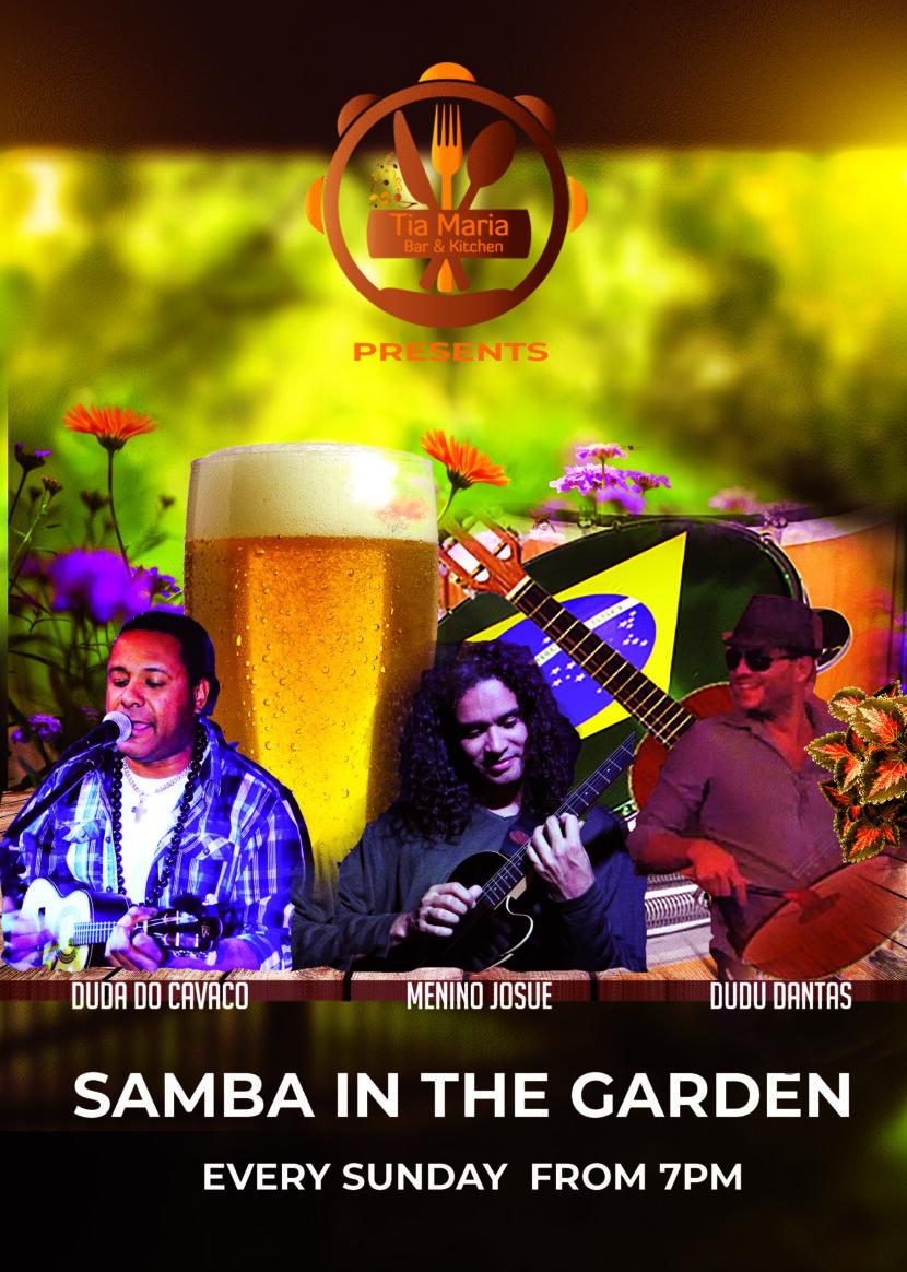 samba in the garden 2021